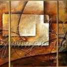 Contemporary Attractive Abstract Oil Painting On Canvas Wall Pictures Framed  XD3-222