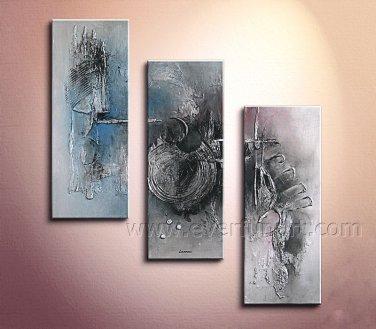 Modern Contemporary Absrtact Oil Painting On Canvas Wall Art FramedX D3-268