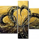 Contemporary Attractive Abstract Oil Painting On Canvas Wall Pictures Framed XD3-276