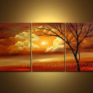 Classical Twilight Impression Landscape Oil Painting Hot Sell Wall Decor LA3-149