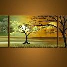 Impression Landscape Oil Painting Symmetry Tree Wall Art LA3-159
