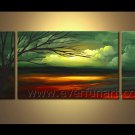 Impression Landscape Oil Painting The Forest Light Of Hope LA3-162