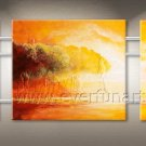 Abstract Happiesness Tree Landscape Oil Painting On Canvas Wall Decor Fine Art LA3-170