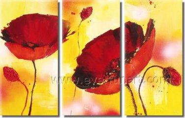Fashion Design 2013 New Flower Painting Canvas Art Home Decoration FL3-146