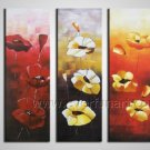Big New Modern Beautiful Flower Painting Canvas Art Wall Pictures  FL3-152