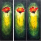 New Abstract Handpainted Floral Oil Painting Home Decor Wall Art FL3-162