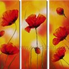 Gorgeous Yellow Flowers Modern Floral Oil Painting On Canvas Framed FL3-166