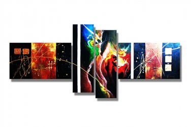Framed! Modern Abstract Canvas Oil Painting larger art  XD4-199