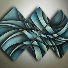 Modern Handmade Hug Professional Decorative Abstract Flower Oil Painting On Canvas XD4-216