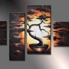 Framed !!! Musum Quality Modern Landscape Art Huge Oil On Canvas Painting LA4-036