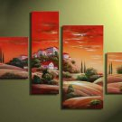 Hand-painted Modern Abstract Landscape Canvas Art Huge Wall Decor Oil Painting LA4-039