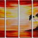 100% Handpainted Landscape Oil Painting on Canvas Wall Decor Art by Professional Artist LA4-044