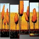 Top Quality Group Landscape Oil Painting on Canvas Wall Decor Art LA4-047
