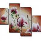 Guaranteed Modern Floral Oil Painting on Canvas for Home Decor FL4-133