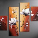 Fashionable Contemporary Floral Oil Painting On Canvas for Wall Decoration FL4-117