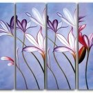 Fashionable Modern Floral Oil Painting on Canvas for Home Decor by Professional Artist FL4-109