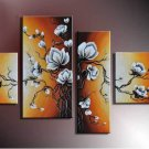 100% Handpainted Modern Huge Flower Oil Painting on Canvas for Wall Decor by Professionals FL4-123