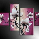 Modern Flower Canvas Oil Painting for Wall Decor by Professionals with Museum Quality FL4-134