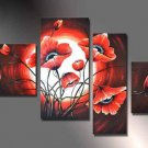 Framed Floral Modern Abstract Huge Canvas Art Oil Painting Large Art  FL4-140