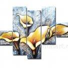 Guaranteed Handpainte Decorative Huge Flower Oil Painting on Canvas FL5-066