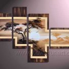 Handpainted African Modern landscape Pine Tree Oil Painting on canvas (+Framed) AR-013