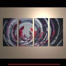 Framed Handmade Abstract Oil Painting on Canvas XD-221