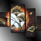 Modern Canvas Art Flower Oil Painting (+Framed) FL4-137