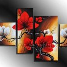 Hand Painted Flower Oil Painting on Canvas (+Framed) FL4-138
