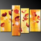 100% Handmade Flower Oil Painting on Canvas (+Framed) FL4-143