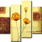 Handmade Decorative Flower Oil Painting (+ Framed) FL4-150