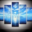 100% Handmade Beautiful Seascape Oil Painting (+Framed) SE-180
