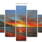 Modern Canvas Art Seascape Oil Painting for Decor (+Framed) SE-184