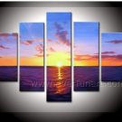 Beautiful Seascape Oil Painting on Canvas for Decor (+ Framed) SE-186