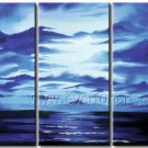 Pure Hand Painted Wall Art Seascape Oil Painting (+ Framed) SE-201