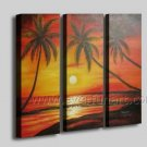 Seascape Oil Painting on Canvas for Home Decor (+ Framed) SE-204