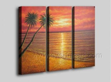 Canvas Seascape Oil Painting for Wall Decoration (+ Framed) SE-205