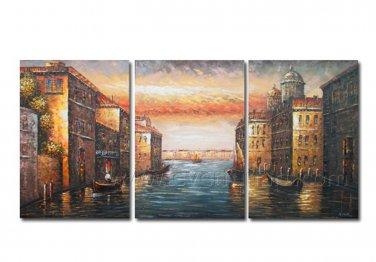 Hot Sale!! Decorative Seascape Oil Painting on Canvas (+Framed) SE-208