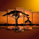 Modern Canvas Art African Painting (+Frame) AR-102