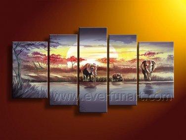 Home Decor Handmade African Painting (+ Frame) AR-104