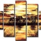 Hot Sale! Modern African Art Oil Painting for Decor (+ Frame) AR-108