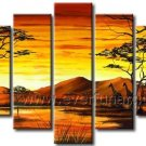 Home Decoration African Art Canvas Painting (+ Framed) AR-109