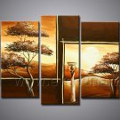 Modern Canvas Art Decorative African Oil Painting (+ Frame) AR-115