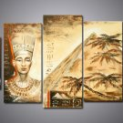 Ready to Hang African Art Oil Painting (+ Frame) AR-120