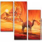 Modern Handmade African Art Oil Painting (+ Frame) AR-128