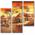 Hot Sale!! Modern African Art Painting (+ Frame) AR-130