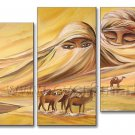 Huge Wall Decor African Art Oil Painting on Canvas (+ Framed) AR-132