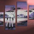 Modern Large Wall Decor African Art Oil Painting (+ Framed) AR-142