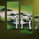 Home Decoration Canvas Art African Oil Painting (+Framed) AR-145