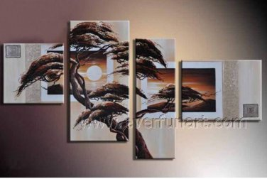 100% Handmade Canvas Art African Oil Painting (+Framed) AR-152