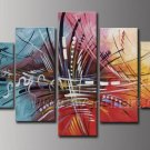 Modern Wall Art Abstract Oil Painting for Decor (XD5-098)